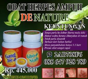 OBAT HERPES AMPUH